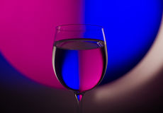 Beautiful wineglass Royalty Free Stock Images