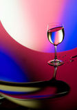 Beautiful wineglass Royalty Free Stock Photo