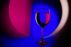 Beautiful wineglass Royalty Free Stock Photography
