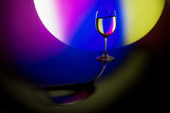 Beautiful wineglass Stock Images