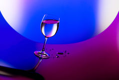 Beautiful wineglass Royalty Free Stock Image