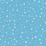 Beautiful winter background - snow pattern Royalty Free Stock Photography