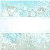 Beautiful winter background. Vector illustration of a beautiful winter background Royalty Free Stock Images