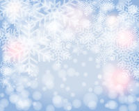 Beautiful winter background Stock Image