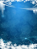 Beautiful winter frosty background Stock Photos