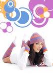 Beautiful winter girl Royalty Free Stock Image