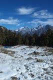 Beautiful winter kuari pass landscape Royalty Free Stock Photo