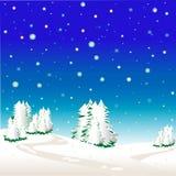 Beautiful winter landscape Royalty Free Stock Photography