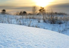 Beautiful winter landscape Royalty Free Stock Photography