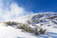 Beautiful Winter mountain landscape from Bulgaria.Borovets Stock Photography