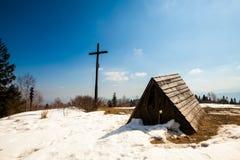 Beautiful winter mountains landscape Stock Image