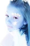Beautiful Winter Princess Royalty Free Stock Photos