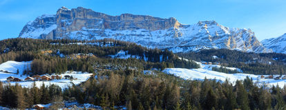 Beautiful winter rocky mountain landscape. Stock Photography