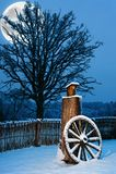 Beautiful winter scenic Stock Photo