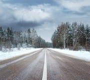 Beautiful winter scenic Stock Photos