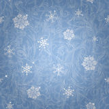 Beautiful winter seamless pattern Stock Photo