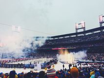 Winter classic in Washington royalty free stock image