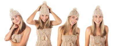 Beautiful winter suit Royalty Free Stock Photos