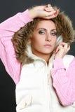 Beautiful Winter Woman Stock Image