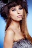 Beautiful Winter Woman Royalty Free Stock Photo