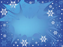Beautiful wintry background. Vector image Stock Photography
