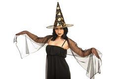 Beautiful witch Stock Photo