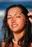 Beautiful  woman . Stock Image