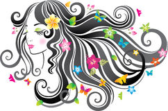 Beautiful woman. Royalty Free Stock Photo