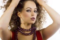 Beautiful woman Stock Images