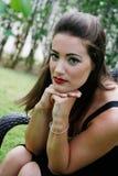 Beautiful woman. Stock Photography