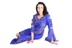 Beautiful woman in arabian dress Stock Photos