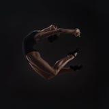 Beautiful woman ballet dancer Stock Photography