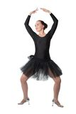 Beautiful woman ballet dancer standing pose Stock Photography