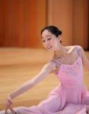 Beautiful woman ballet dancer Stock Photos