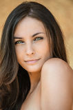 Beautiful woman bare Royalty Free Stock Images