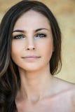 Beautiful woman bare Stock Image