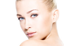 Beautiful woman with beauty skin Stock Photo