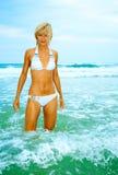 Beautiful woman in bikini Royalty Free Stock Image