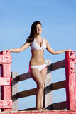 Beautiful woman in bikini Royalty Free Stock Images