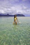 Beautiful woman in bikini Royalty Free Stock Photography