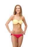 Beautiful woman in bikini. Bright picture of beautiful woman in bikini Stock Image