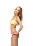 Beautiful woman in bikini. Bright picture of beautiful woman in bikini Royalty Free Stock Image