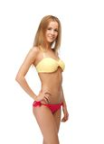 Beautiful woman in bikini Royalty Free Stock Photography