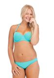 Beautiful woman in bikini Royalty Free Stock Image