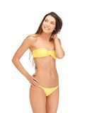 Beautiful woman in bikini Stock Photo