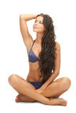 Beautiful woman in bikini Royalty Free Stock Photo