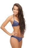 Beautiful woman in bikini. Bright picture of beautiful woman in bikini Stock Images