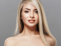 Free Beautiful Woman Blond Portrait Face Studio Royalty Free Stock Images - 66359579