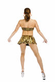 Beautiful woman bodybuilder Royalty Free Stock Photo