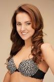 Beautiful woman in bra Royalty Free Stock Photos